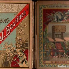 Libros antiguos: MIQUEL Y BADÍA : EL MOBILIARIO (BASTINOS, 1892). Lote 152946822