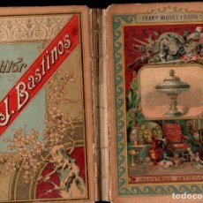 Libros antiguos: MIQUEL Y BADÍA : INDUSTRIAS ARTÍSTICAS (BASTINOS, 1892). Lote 152947142