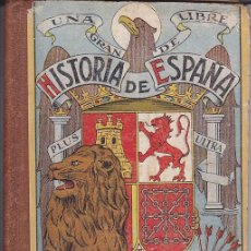 Libros antiguos: HISTORIA DE ESPAÑA EDITORIAL DALMAU CARLES PLA . Lote 153216166