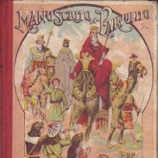 Libros antiguos: LIBRO ESCUELA MANUSCRITO DEL PARVULITO ROQUE GRAU RIERA . Lote 153216294