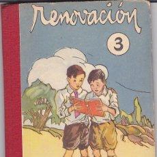 Libros antiguos: LIBRO ESCUELA RENOVACION 3 SALVATELLA EDITOR . Lote 153216586