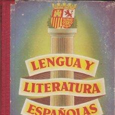 Libros antiguos: LIBRO EWSCUELA LENGUA LITERATURA ESPAÑOLAS SEGUNDO CURSO LUIS VIVES . Lote 153216646