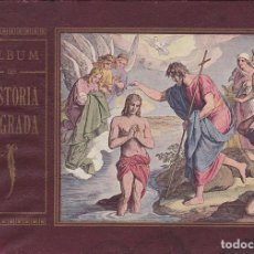 Libros antiguos: LIBRO ESCUELA ALBUM DE HISTORIA SAGRADA IMPRENTA ELZEVIRIANA . Lote 153216802