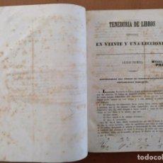 Libros antiguos: TENEDURIA DE LIBROS JACLOT JUNTA DE COMERCIO DEL PRINCIPADO DE CATALUÑA. Lote 153785426
