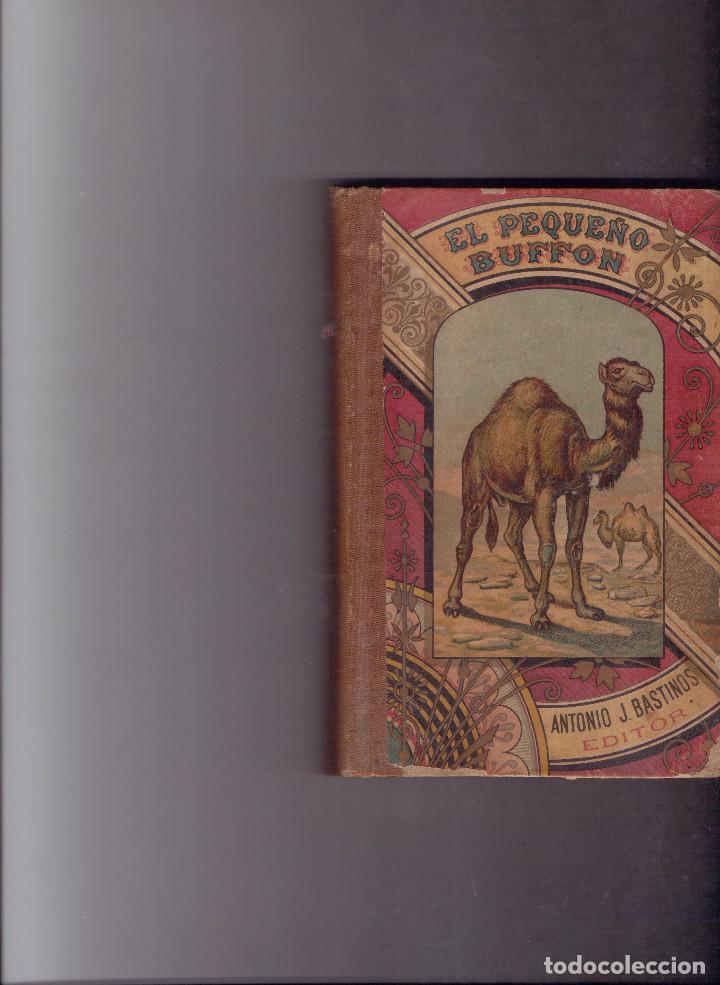 EL PEQUEÑO BUFFON COMPENDIO DE HISTORIA NATURAL, 1893 (Libros Antiguos, Raros y Curiosos - Libros de Texto y Escuela)