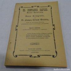 Libros antiguos: EL CONTADOR RÁPIDO - D. JUAN CRUZ BUSTO. IMPRENTA EL RIOJANO. LOGROÑO . Lote 154310794