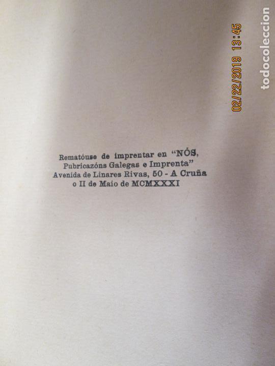 Libros antiguos: CASTELAO CINCOENTA HOMES POR DEZ REÁS 2ª EDICIÓN - EDITORIAL NÓS A CORUÑA 1931. - Foto 2 - 155161638