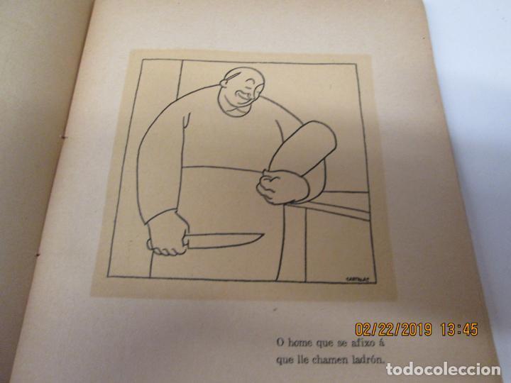 Libros antiguos: CASTELAO CINCOENTA HOMES POR DEZ REÁS 2ª EDICIÓN - EDITORIAL NÓS A CORUÑA 1931. - Foto 3 - 155161638