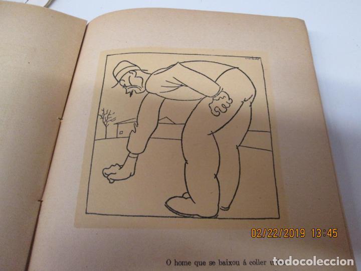 Libros antiguos: CASTELAO CINCOENTA HOMES POR DEZ REÁS 2ª EDICIÓN - EDITORIAL NÓS A CORUÑA 1931. - Foto 4 - 155161638