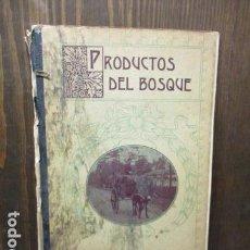 Libros antiguos: PRODUCTOS DEL BOSQUE BIBLIOTECA LECTURAS AMPLIADAS CUADERNO Nº 5 AÑO, 32 PGS CON FOTOS. Lote 156002922