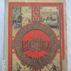 Libros antiguos: MISCELÁNEA DE DOCUMENTOS VARIOS. ESTEBÁN PALUZÍE. HIJO DE PALUZÍE S. EN C. CASA EDITORIAL, 1900. Lote 156913058