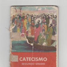 Libros antiguos: CATECISMO-SEGUNDO GRADO-TEXTO NACIONAL-AÑO 1958. Lote 158614222
