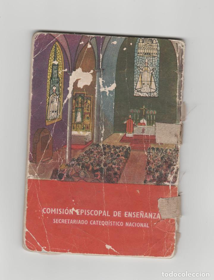 Libros antiguos: CATECISMO-SEGUNDO GRADO-TEXTO NACIONAL-AÑO 1958 - Foto 2 - 158614222