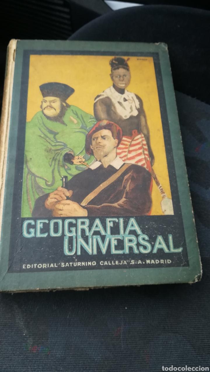 GEOGRAFÍA UNIVERSAL, DE SATURNINO CALLEJA (Libros Antiguos, Raros y Curiosos - Libros de Texto y Escuela)