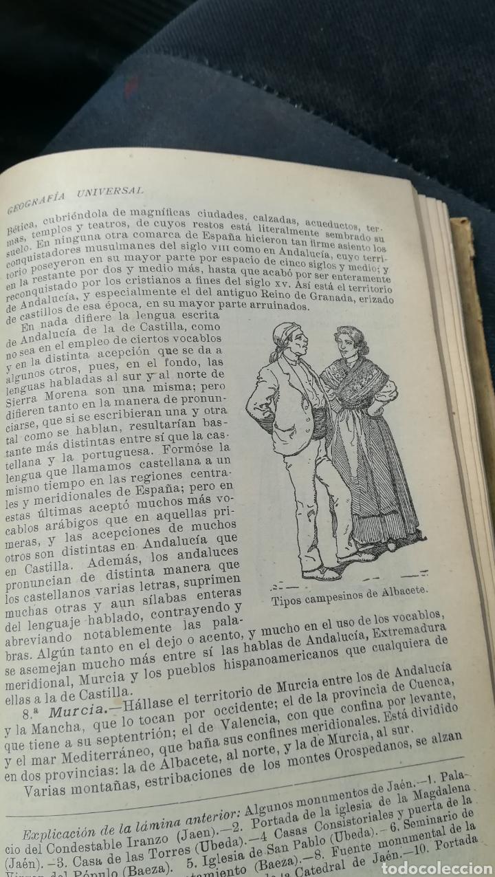 Libros antiguos: Geografía Universal, de Saturnino Calleja - Foto 6 - 158677752