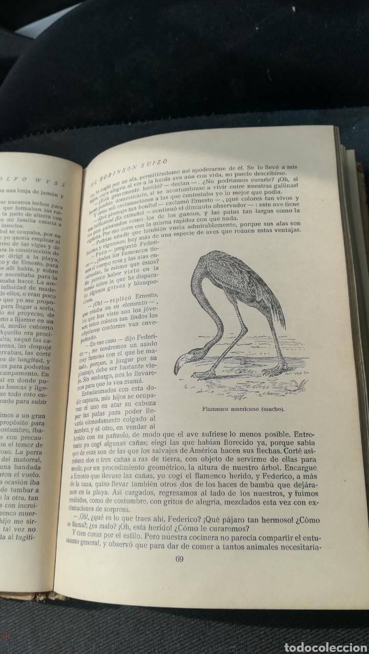 Libros antiguos: Robinson Suizo, de Saturnino Calleja - Foto 4 - 158679106