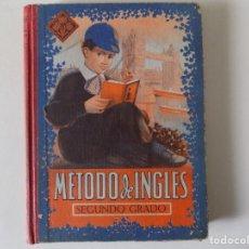 Libros antiguos: LIBRERIA GHOTICA. MEDODO DE INGLÉS. SEGUNDO GRADO. EDITORIAL LUIS VIVES.1958.MUY ILUSTRADO.. Lote 158866250