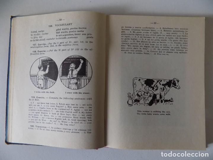 Libros antiguos: LIBRERIA GHOTICA. MEDODO DE INGLÉS. SEGUNDO GRADO. EDITORIAL LUIS VIVES.1958.MUY ILUSTRADO. - Foto 2 - 158866250