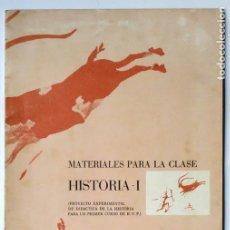Libros antiguos: MATERIALES PARA LA CLASE DE HISTÓRIA - 1 ANAYA UNIVERSIDAD LITERARIA DE VALENCIA. Lote 170626900