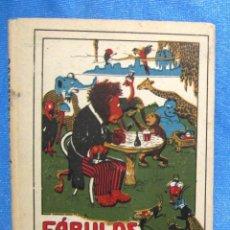 Libros antiguos: FÁBULAS EN VERSO CASTELLANO. D. FÉLIX MARÍA SAMANIEGO. EDITORIAL SATURNINO CALLEJA, S/F.. Lote 159339738