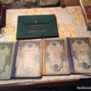 Libros antiguos: ANTIGUOS 4 LIBROS ESCOLARES HISTORIA SAGRADA GRAMATICA ESPAÑOLA, LENGUA FRANCESA, ARITMETICA 1926 . Lote 159447622