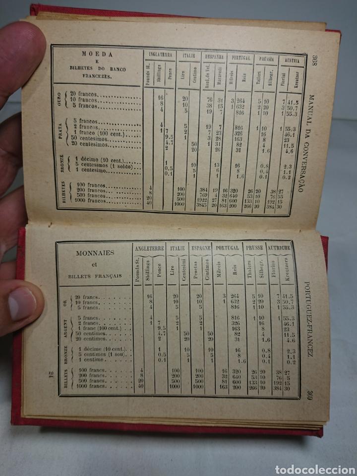 Libros antiguos: Manual da conversaçao, en Portugués y Francés - Foto 3 - 159804101
