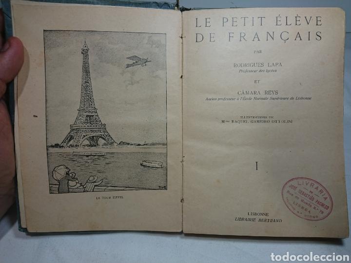 LE PETIT ELEVE DE FRANÇAIS, RODRIGUES LAPA (Libros Antiguos, Raros y Curiosos - Libros de Texto y Escuela)
