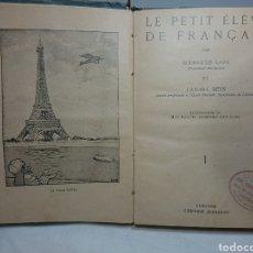 Libros antiguos: LE PETIT ELEVE DE FRANÇAIS, RODRIGUES LAPA. Lote 159807666