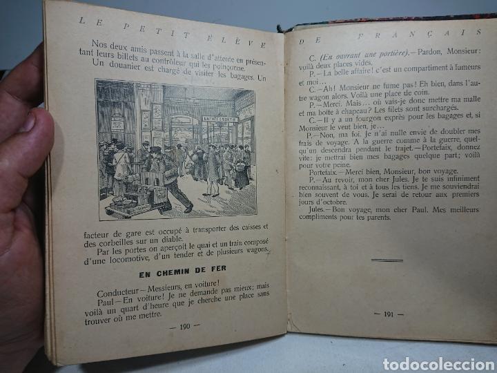 Libros antiguos: Le Petit Eleve de Français, Rodrigues Lapa - Foto 4 - 159807666