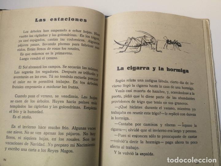 Libros antiguos: ANTIGUO LIBRO DE LECTURA DE ESCUELA - PRIMER LIBRO DE LECTURA CORRIENTE - CACERES - QUILIANO BLANCO - Foto 2 - 159889842