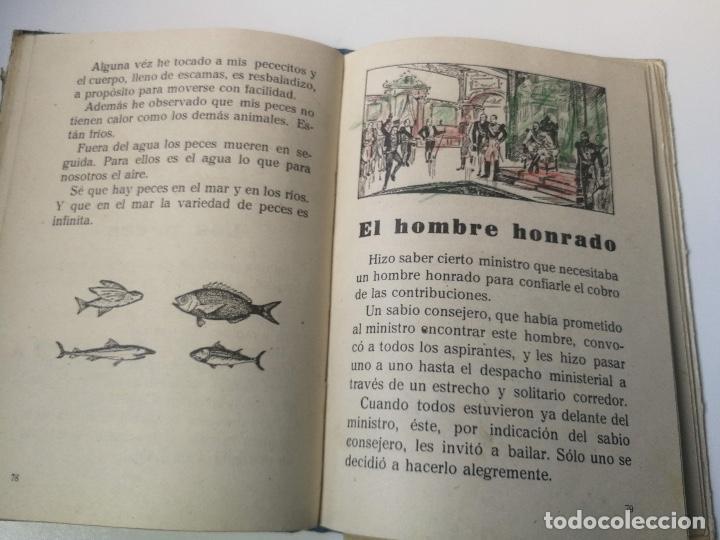 Libros antiguos: ANTIGUO LIBRO DE LECTURA DE ESCUELA - PRIMER LIBRO DE LECTURA CORRIENTE - CACERES - QUILIANO BLANCO - Foto 3 - 159889842