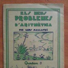 Libros antiguos: MIS PROBLEMAS DE ARITMÉTICA : CUADERNO 5. Lote 159998818