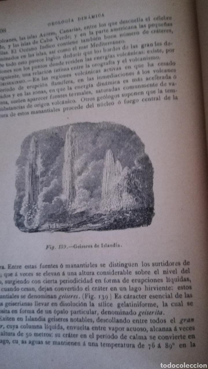 Libros antiguos: Historia Natural, Geología y Mineralogía de José de Galdo de 1894 - Foto 5 - 160253940