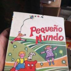 Libros antiguos: PAQUEÑO MUNDO. EDICIONES SM. 1981 . Lote 160464922