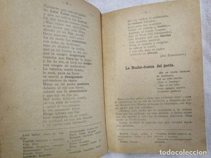 Libros antiguos: RECITACIONES ESCOLARES - EZEQUIEL SOLANA - MAGISTERIO ESPAÑOL S/F+ INFO Y FOTOS 1s - Foto 3 - 160645614