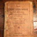 Libros antiguos: PETITE ENCYCLOPEDIE DES ENFANTS. TOULOUSE 1837. Lote 160871646