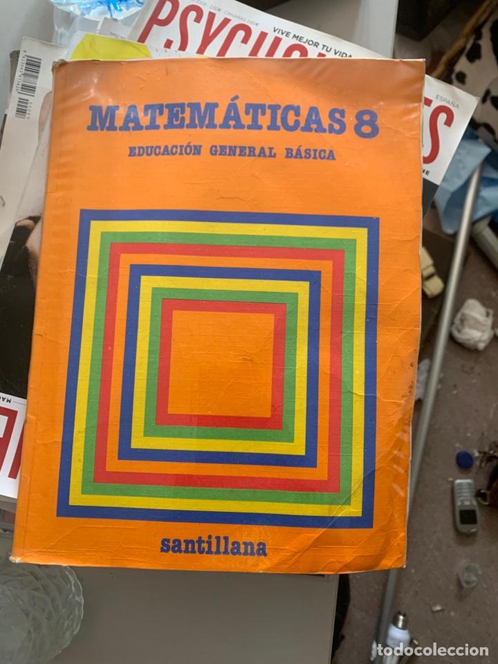 CUADERNO EGB DE LOS 80 MATEMÁTICAS 8 (Libros Antiguos, Raros y Curiosos - Libros de Texto y Escuela)
