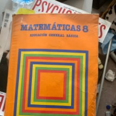 Libros antiguos: CUADERNO MATEMÁTICAS 8 SANTILLANA. Lote 161515009