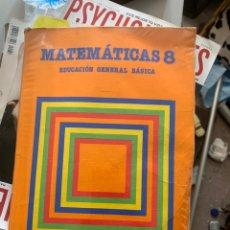 Libros antiguos: LIBRO DE MATEMÁTICAS 8 SANTILLANA. Lote 161515009