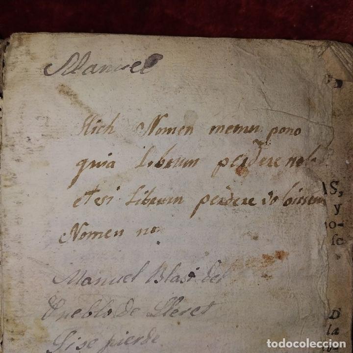 Libros antiguos: NUEVO ESTILO Y FORMULARIO DE ESCRIVIR CARTAS. IMP. RAFAEL FIGUERÓ. BARCELONA. 1756(?) - Foto 7 - 161650814
