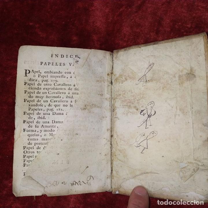 Libros antiguos: NUEVO ESTILO Y FORMULARIO DE ESCRIVIR CARTAS. IMP. RAFAEL FIGUERÓ. BARCELONA. 1756(?) - Foto 11 - 161650814