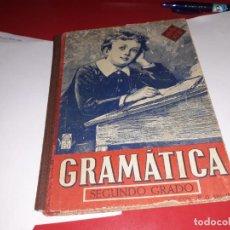 Libros antiguos: GRAMÁTICA SEGUNDO GRADO EDITORIAL LUIS VIVES 1945***. Lote 161913270