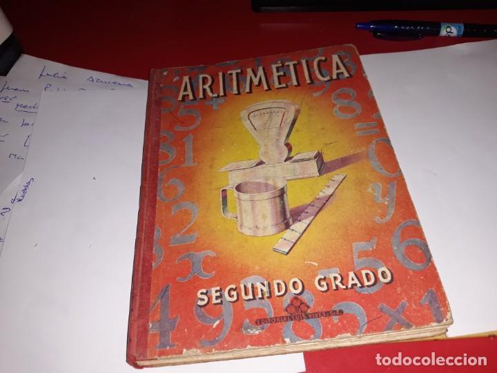 ARITMÉTICA SEGUNDO GRADO EDITORIAL LUIS VIVES 1958*** (Libros Antiguos, Raros y Curiosos - Libros de Texto y Escuela)