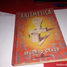 Libros antiguos: ARITMÉTICA SEGUNDO GRADO EDITORIAL LUIS VIVES 1958***. Lote 161913606