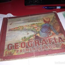 Libros antiguos: GEOGRAFIA PRIMER GRADO EDITORIAL LUIS VIVES 1953***. Lote 161914362