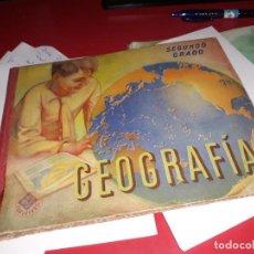 Libros antiguos: GEOGRAFIA SEGUNDO GRADO EDITORIAL LUIS VIVES 1957***. Lote 161914794