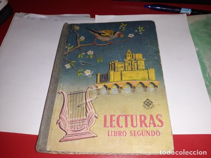 LECTURAS LIBRO SEGUNDO EDITORIAL LUIS VIVES 1956*** (Libros Antiguos, Raros y Curiosos - Libros de Texto y Escuela)