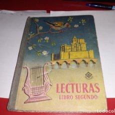 Libros antiguos: LECTURAS LIBRO SEGUNDO EDITORIAL LUIS VIVES 1956***. Lote 161920826
