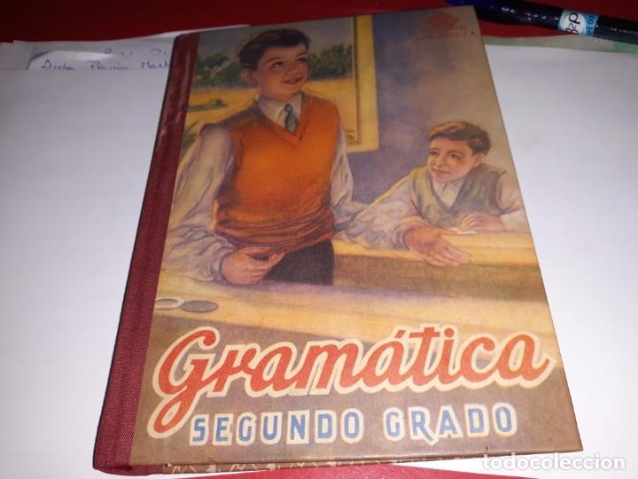 GRAMÁTICA SEGUNDO GRADO EDITORIAL LUIS VIVES 1947*** (Libros Antiguos, Raros y Curiosos - Libros de Texto y Escuela)