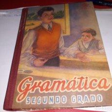 Libros antiguos: GRAMÁTICA SEGUNDO GRADO EDITORIAL LUIS VIVES 1947***. Lote 161921478